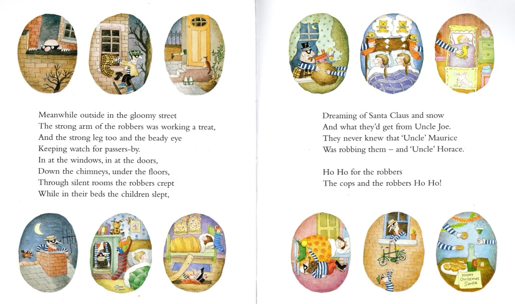 Cops and Robbers by Janet and Allan Ahlberg | tygertale