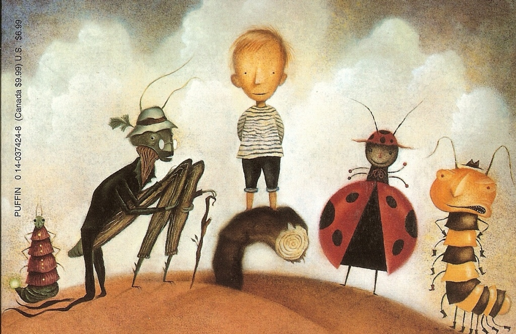 Image result for james and the giant peach book illustrations