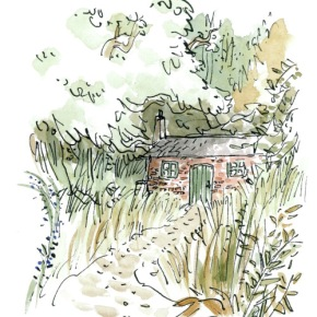 Miss Honey's Cottage from Roald Dahl's Matilda