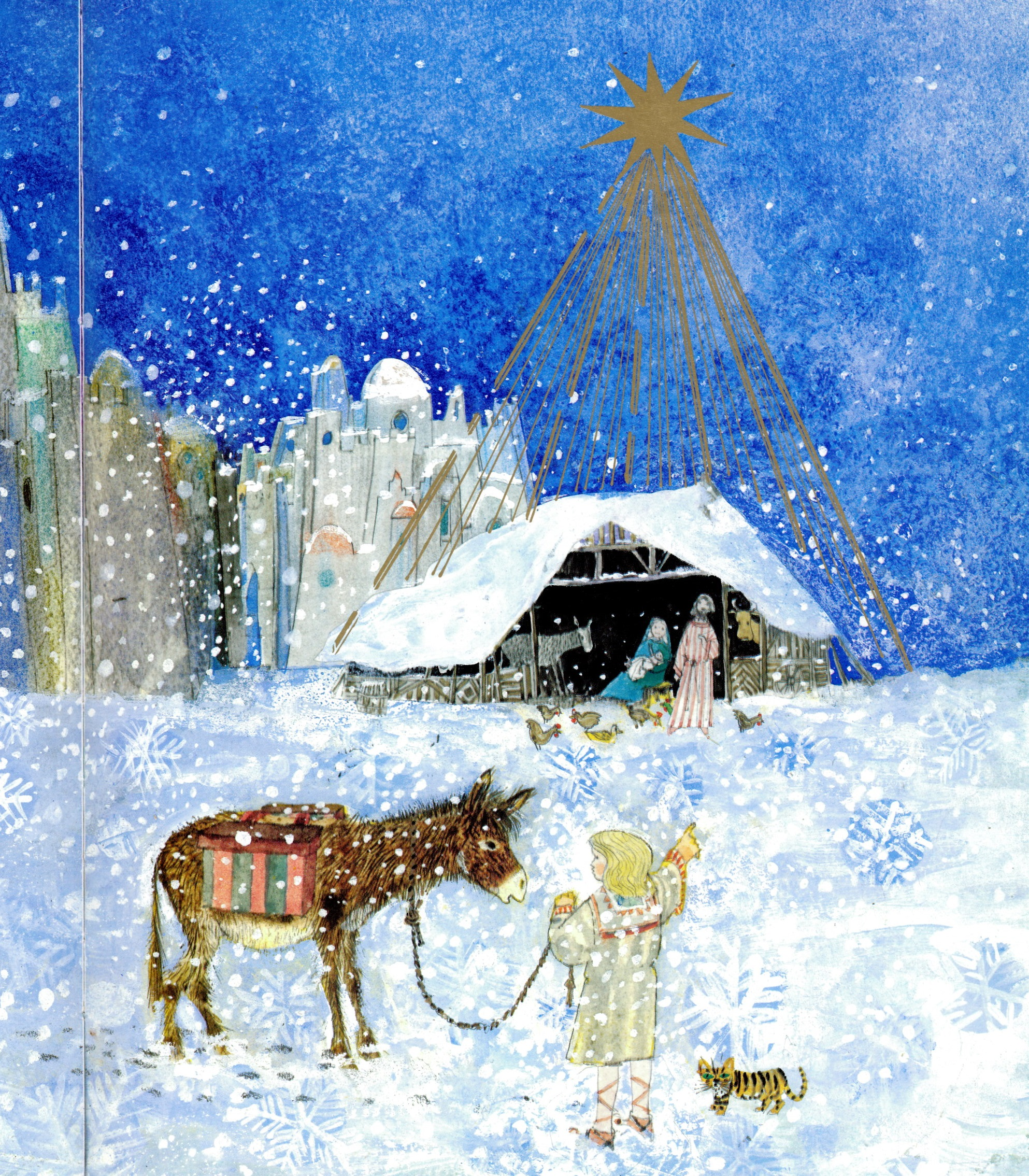 A Christmas Story By Brian Wildsmith Tygertale