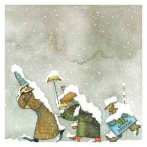 Snow by UriShulevitz