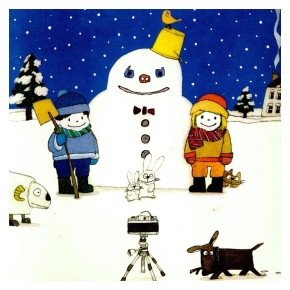 The Happy Christmas Book by SatoshiKitamura
