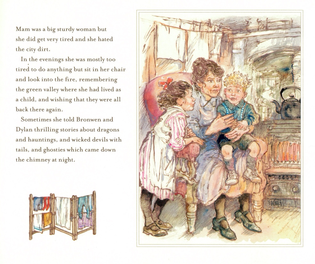 The Christmas Eve Ghost by Shirley Hughes | tygertale