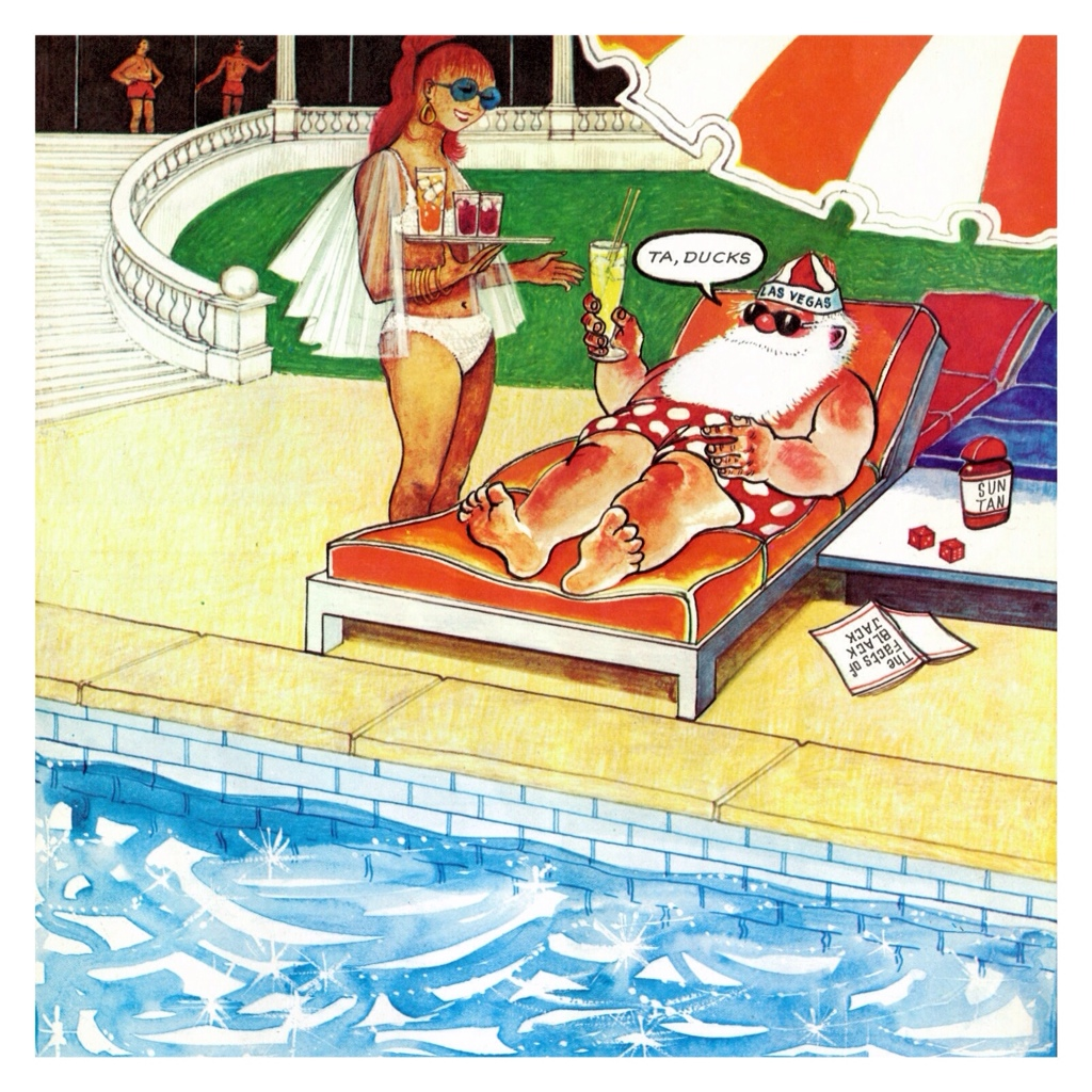 Father Christmas Goes On Holiday By Raymond Briggs Tygertale