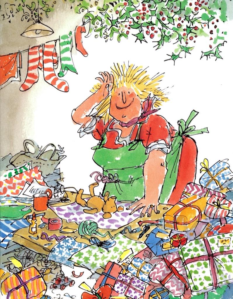 Mother Christmas Cartoon.Where Art Thou Mother Christmas By Roald Dahl Tygertale