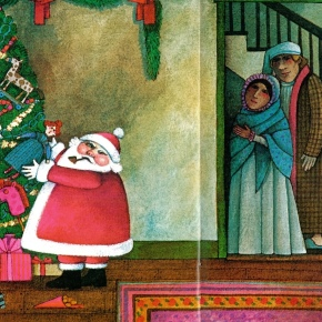 The Night Before Christmas illustrated by Tomie dePaola