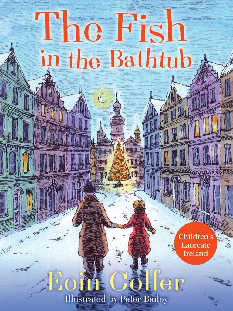 The fish in the bathtub by eoin colfer tygertale for A fish in the bathtub