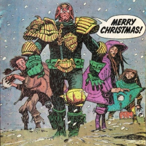 Mutants, Mayhem, Mistletoe – 2000AD at Christmastime