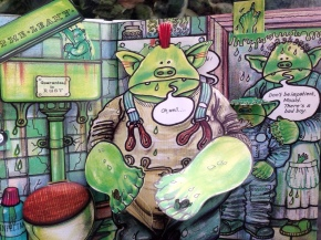 Fungus the Bogeyman Plop-Up Book by Raymond Briggs