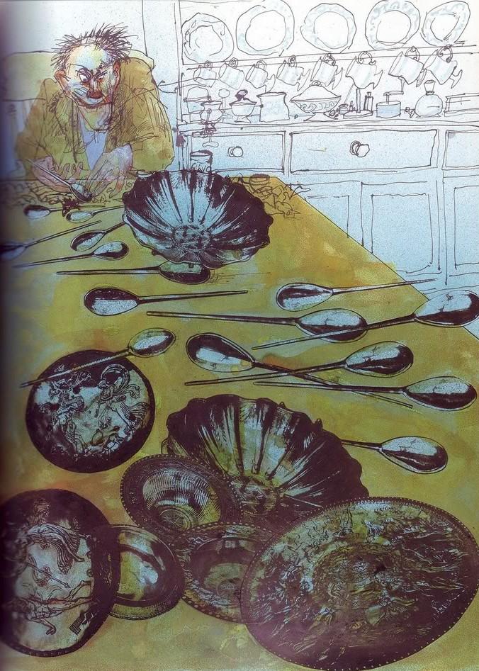 The Mildenhall Treasure – Ralph Steadman | tygertale