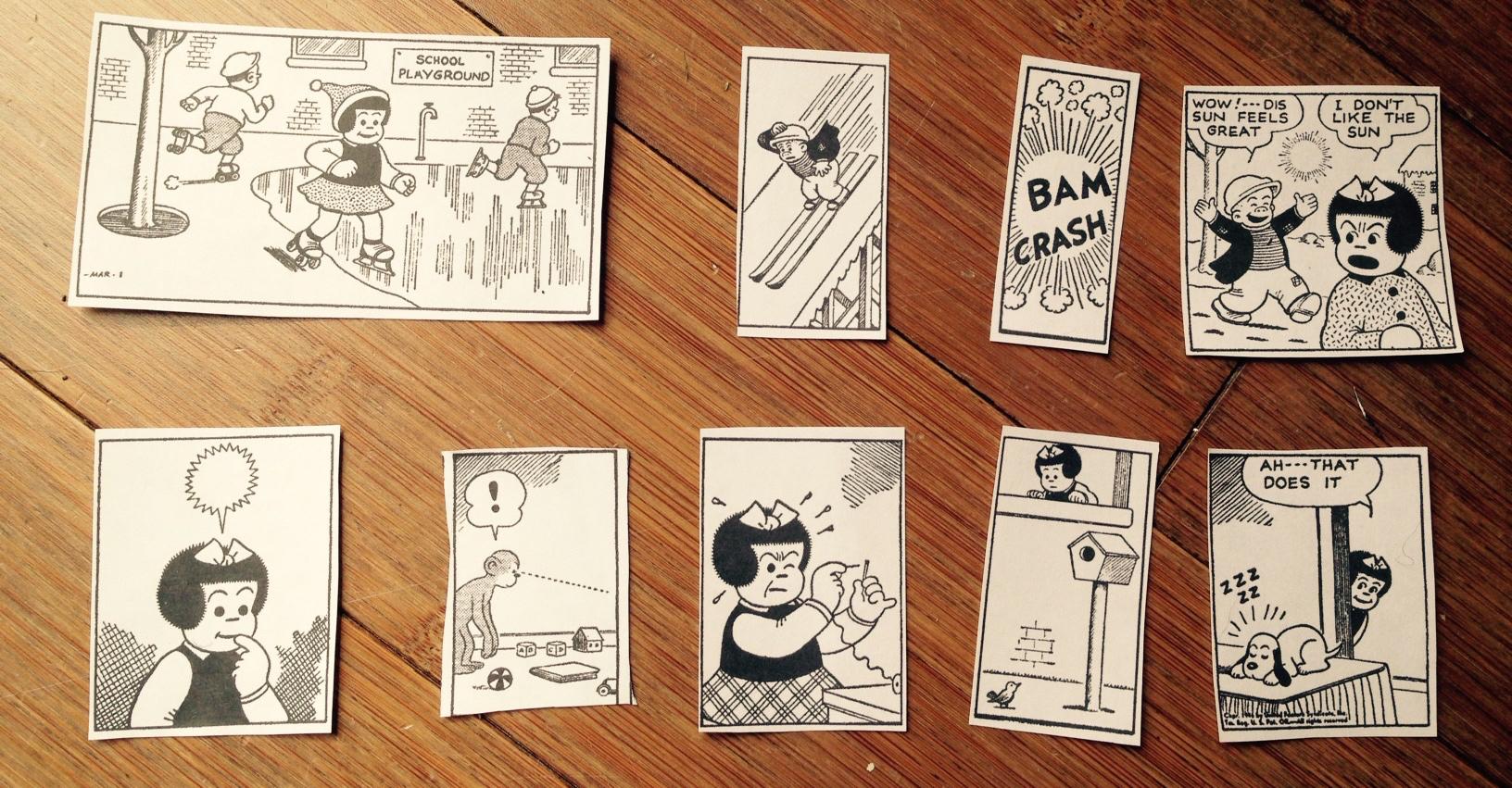 Comic strip by ernie bushmiller