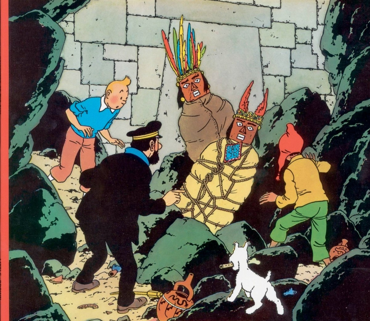 The Book I Read Until it Fell Apart - Tintin  Prisoners of the Sun
