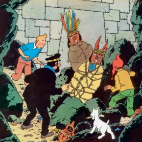 The Book I Read Until it Fell Apart – Tintin  Prisoners of the Sun