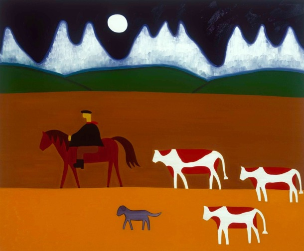 The Gaucho and his Cattle by Cristina Rodriguez (Colombia)