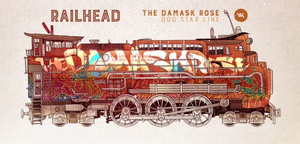 Railhead Damask Will Kirkby