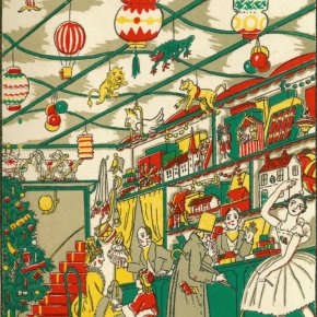 The Mysterious Toyshop by Cyril W. Beaumont and Wyndham Payne