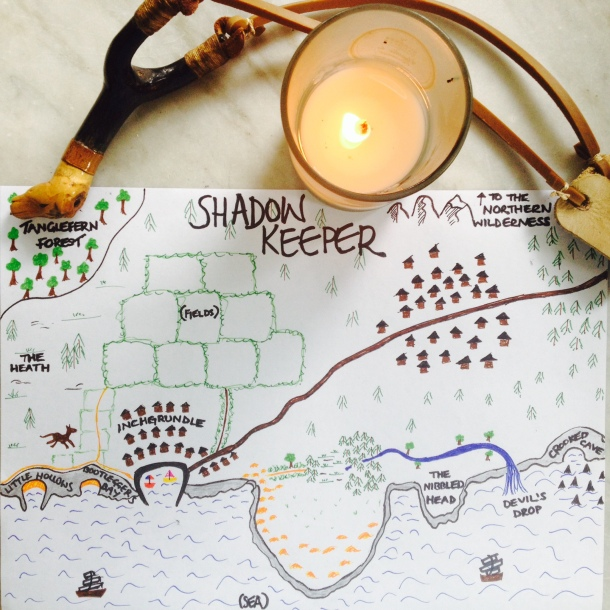 My map of the Shadow Keeper world 7