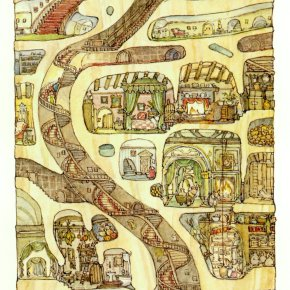 Brambly Hedge: The Secret Staircase by Jill Barklem