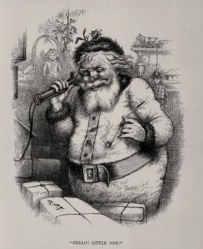 An Interview with Santa Claus by Margaret Mead illustrated by Thomas Nast