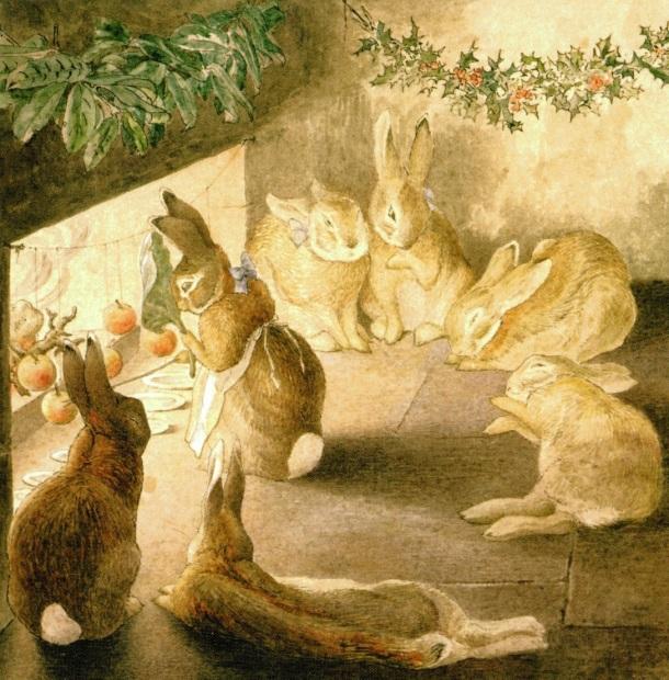 rabbits-xmas-party