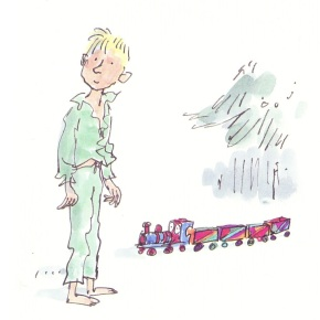 Father Christmas's Last Present by Quentin Blake, Marie-Aude Murail and Elvire Murail
