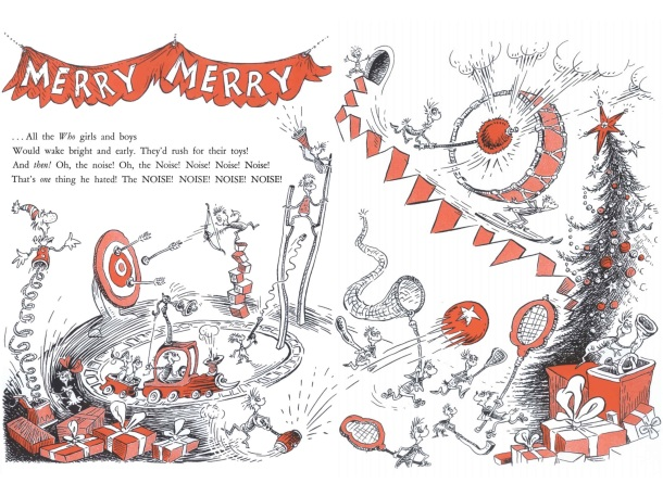 How The Grinch Stole Christmas Book Illustrations.How The Grinch Stole Christmas By Dr Seuss Tygertale
