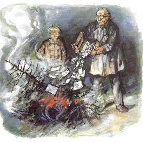 Burning the Tree by Shirley Hughes