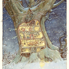 Brambly Hedge: Winter Story by Jill Barklem