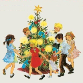 Christmas in Noisy Village by Astrid Lindgren